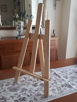 Caballete mesa pino Bonfil pintura