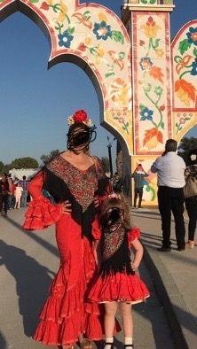 Traje de Flamenca madre / hija