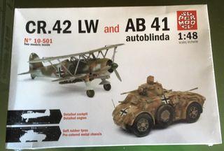 MaquetaSUPER MODEL 1/48 - CR42 LW & AB41 Autoblind