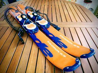 ESQUIS CORTOS. SALOMON. BIG FOOT. SNOWBLADES.