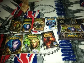 LOTE VIDEOJUEGO WORLD OF WARCRAFT CON EXPANSIONES