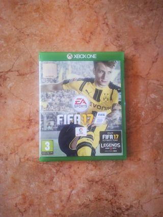 Juego FIFA 17 XBOX ONE