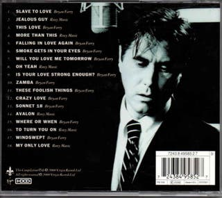 CD Bryan Ferry - Slave to Love: The Best Ballads