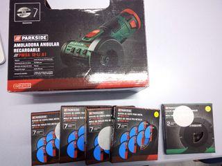 Amoladora Batería 31 Discos