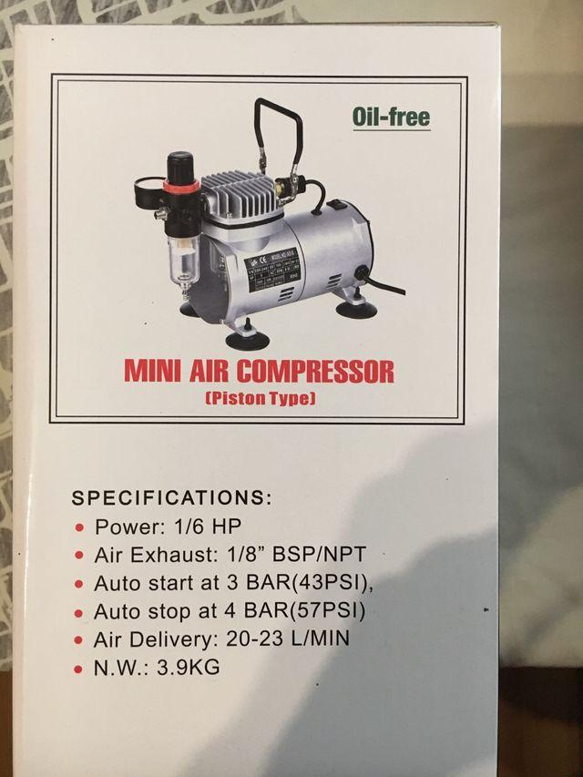 Mini Compresor de aire Nuevo