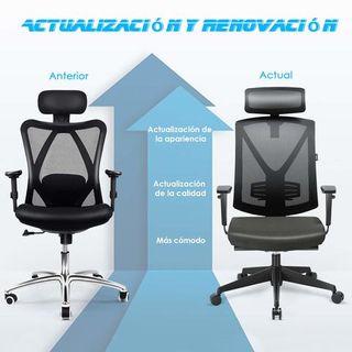 Intey silla ergonómica de oficina o de escritorio