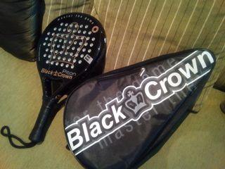 Pala Padel Black Crown Piton