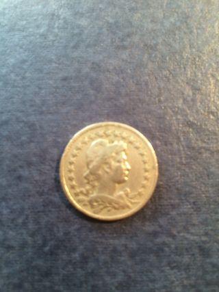 Moneda 100 Reis Brasil 1929