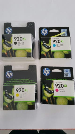 Pack tinta impresora HP office Jet 920XL