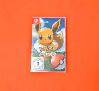 Pokémon Let's Go Eevee PRECINTADO / Switch