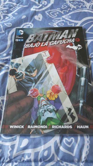 Cómic Batman Bajo la capucha