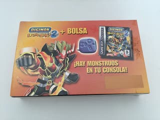 PACK DIGIMON + BOLSA gameboy advance
