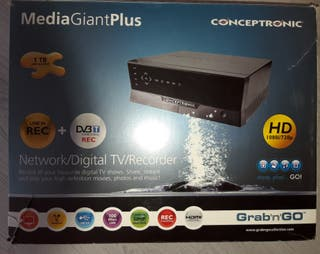 Disco duro Multimedia 1 TB, con TDT y grabador