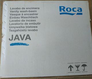 Lavabo encimera baño marca Roca
