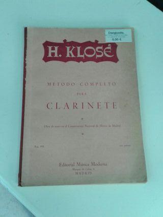 H.Klose.Método completo para Clarinete