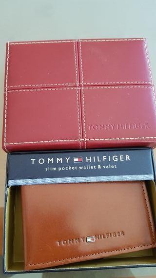 6b455e8bb Cartera Tommy Hilfiger de segunda mano en WALLAPOP