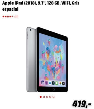 iPad 6° Generación+iPad pencil+funda+teclado+base