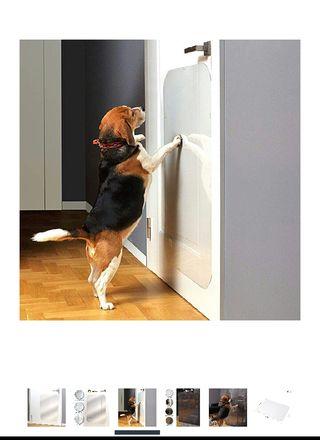 Proteccion arañazos puerta perros