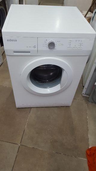 lavadora EDESA 6 kilos clase A+A 1000 rpm