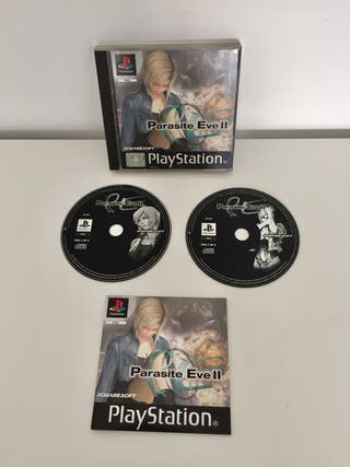 PARASITE EVE 2 ps1 (psx)