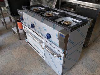 cocina de 3 Fuego