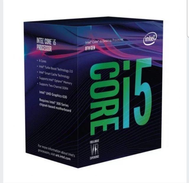 Placa base y procesador i5 8600k
