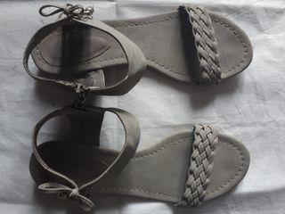 Sandalias trenza