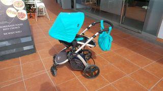 Silla de paseo, capazo y asiento coche bebe
