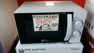 MICROONDAS NUEVO EAS ELECTRIC.2 AÑOS DE GARANTIA.