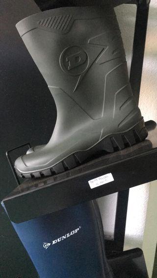 botas de seguridad y goma