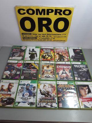JUEGOS DE XBOX 360 DESDE 3 EUROS.