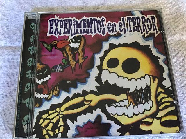 EXPERIMENTOS EN EL TERROR CD
