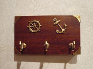 llavero o colgador de llaves. decoración marinera
