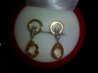 8e6c601d546a Pendientes de oro de segunda mano en la provincia de Córdoba en WALLAPOP