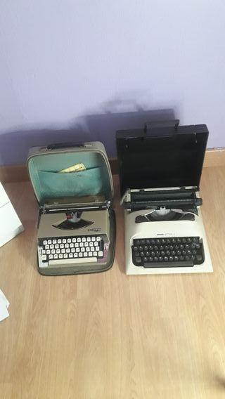 maquinas de escribir