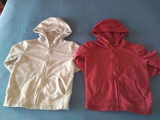 Lote de 2 chaquetas de chándal de niña