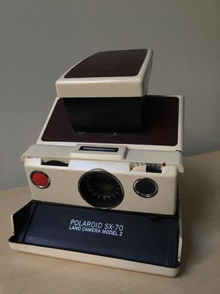 Polaroid SX 70 Ivory