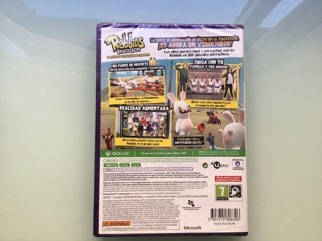 Juego Xbox360 Rabbids Invasion precintado