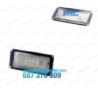 Luces de matrícula LED BMW Serie 3 E36 (1991-1999)