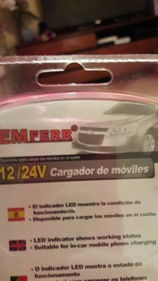 Cargador de Móviles 12/24.