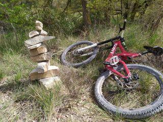 bici descenso scott nitrous