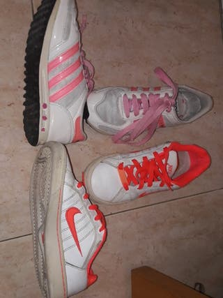 Pack Zapatillas Nike y adidas