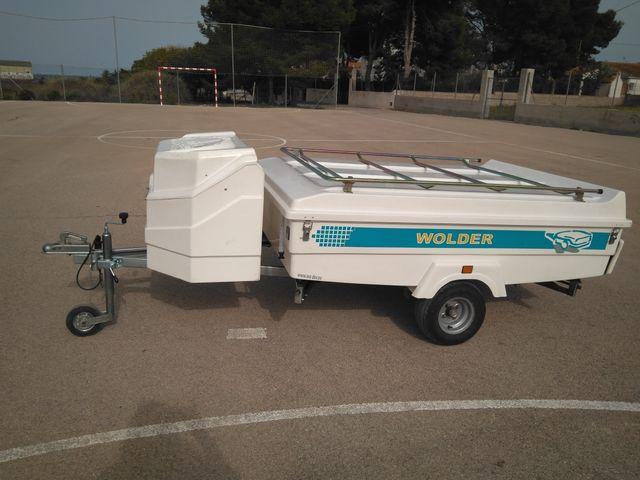 convertible remolque tienda Wolder chamán