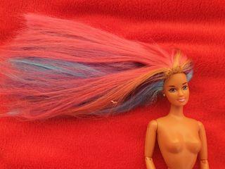 Barbie Teresa Hula hair con taras