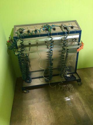 Máquina de cromar al agua