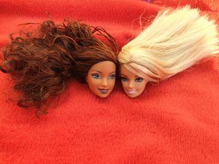 Cabezas Barbie