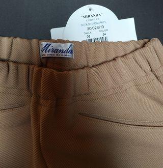 Pantalón Niña de la marca Miranda Talla 8