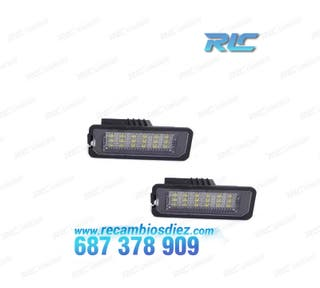 Luces de matrícula LED Peugeot - Tipo 2