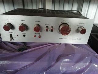 amplificador antiguo funcionando