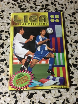 Álbum cromos la liga 95-96